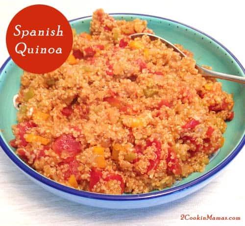 Spanish Quinoa | 2CookinMamas