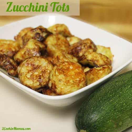 Zucchini Tots | 2CookinMamas