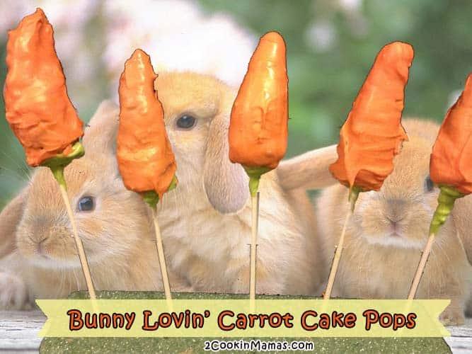 Carrot Cake Pops   2 Cookin Mamas