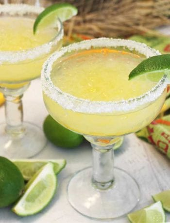 Margaritas on the rocks square | 2 Cookin Mamas