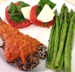 Ahi Tuna meal | 2CookinMamas