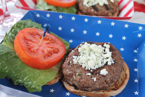 Red White and Bleu Burger 1 | 2CookinMamas