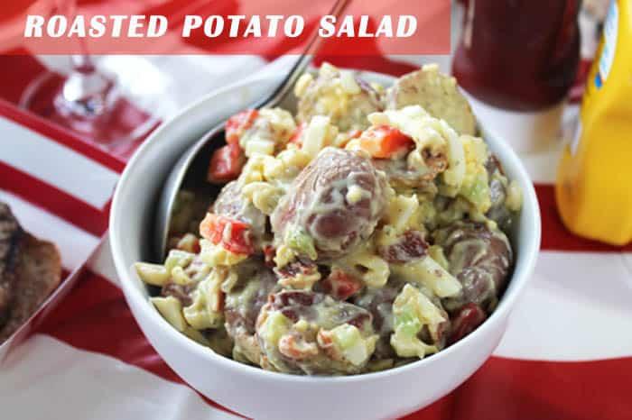 Roasted Potato Salad   2 Cookin Mamas