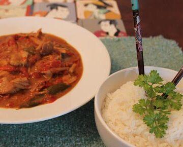 Slow Cooker Thai Pork 2   2CookinMamas