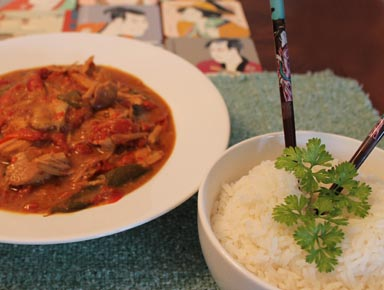Slow Cooker Thai Pork 2 | 2CookinMamas