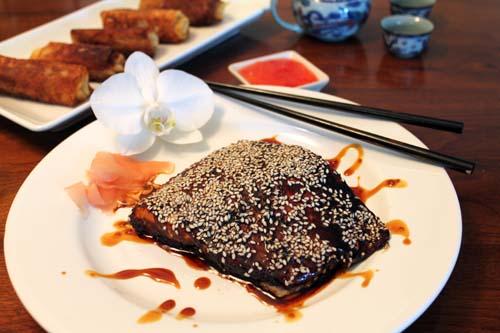 Soy Glazed Salmon 3 | 2CookinMamas