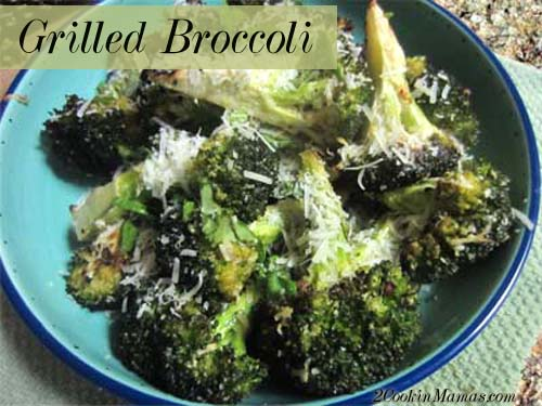 Grilled Broccoli   2CookinMamas