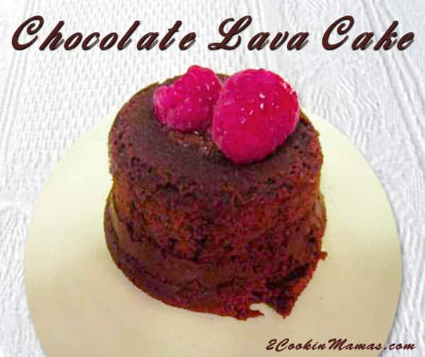 Chocolate Lava Cake | 2CookinMamas