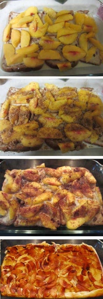 Cinnamon French Toast Bake steps