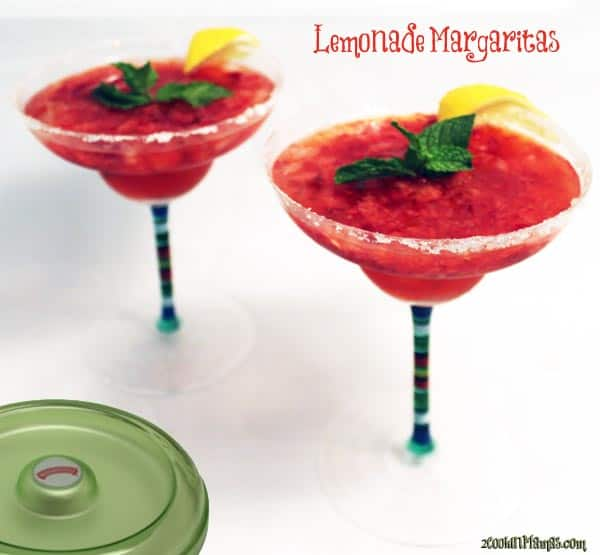 Lemonade Margarita | 2CookinMamas