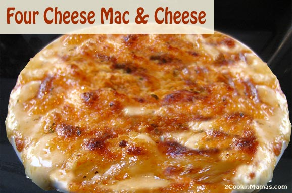 Four Cheese Mac & Cheese | 2CookinMamas