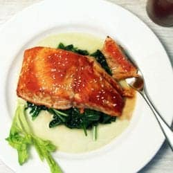 Bloody Mary Salmon square | 2 Cookin Mamas