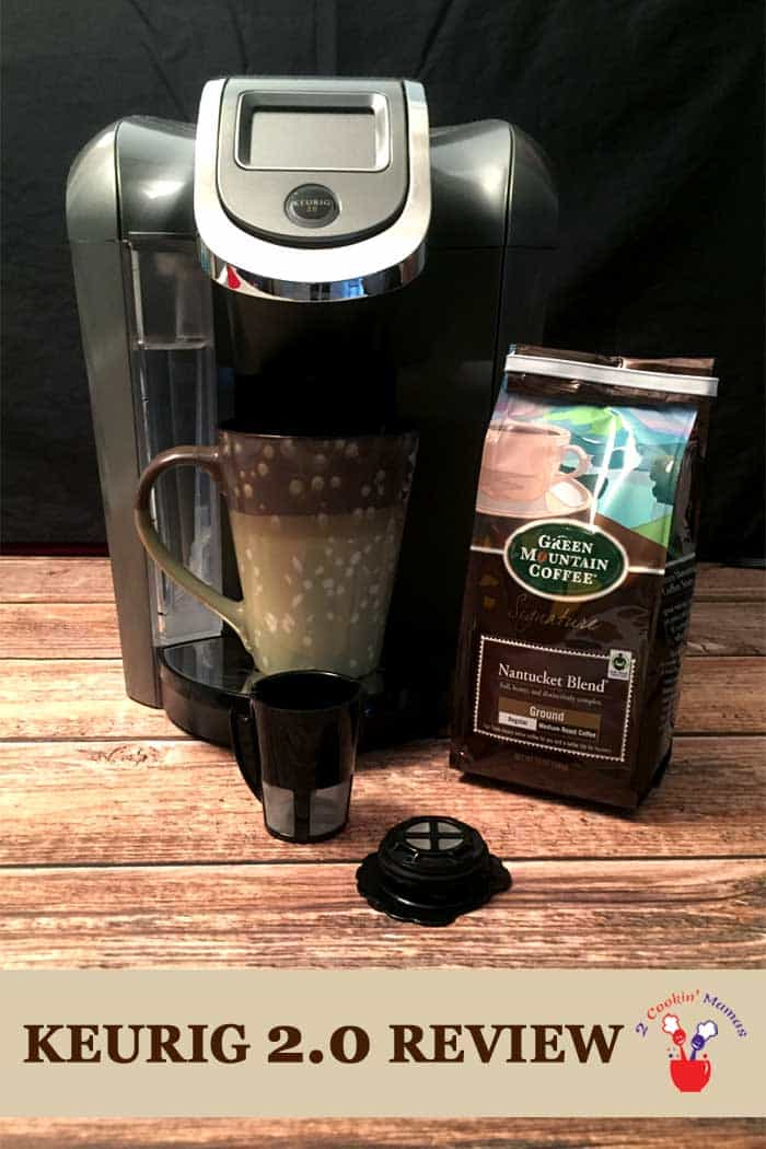 Need a cup of coffee in the morning before anyone can talk to you. Then you need the Keurig 2.0 coffee system! Easy single cups or carafe pots of coffee at your command. See my Keurig 2.0 review on the blog. #Keurig2.0review #productreview #ad #Keurig2.0