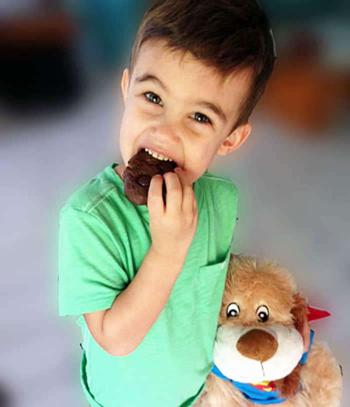 Maxx and his Chocolate Candy Cookie