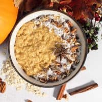 Pumpkin Pie Overnight Oats square