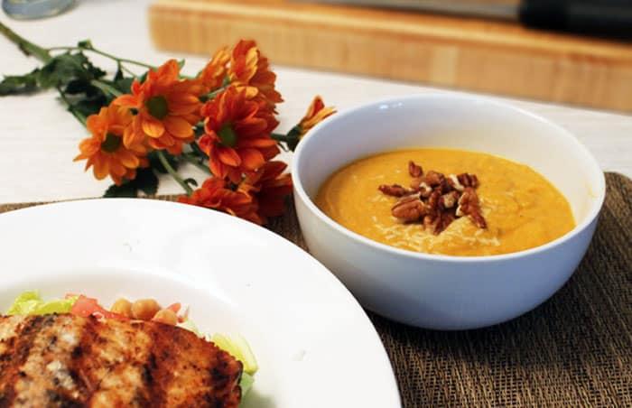 Pumpkin Squash Soup 1 | 2 Cookin Mamas