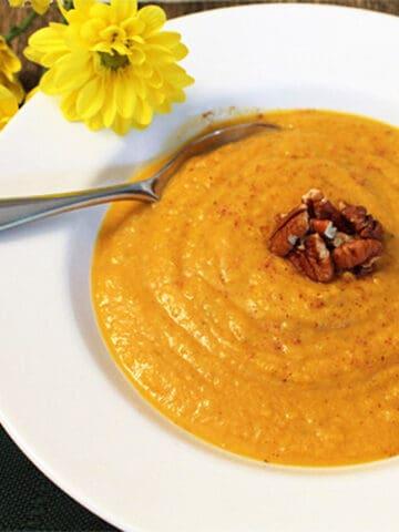 Pumpkin Squash Soup square | 2 Cookin Mamas