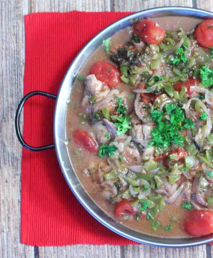 Chicken Cacciatore | 2 Cookin Mamas