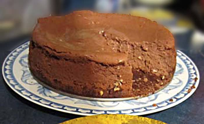 Fudge Truffle Cheesecake wide