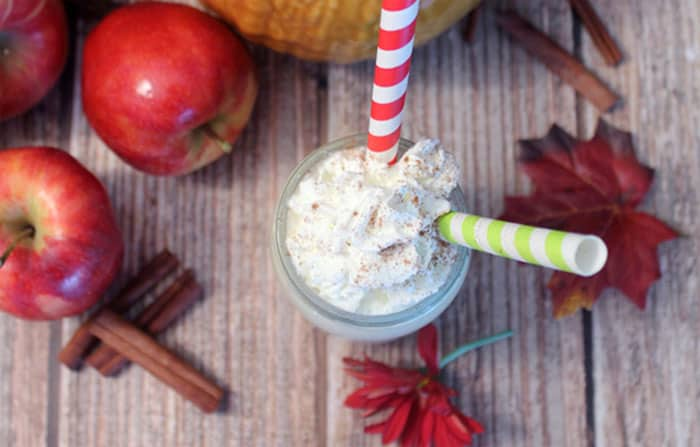 Apple Pie Smoothie 4 | 2 Cookin Mamas