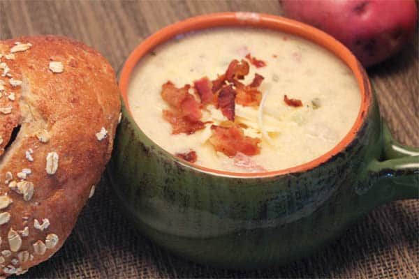 Baked Potato Soup 1| 2CookinMamas