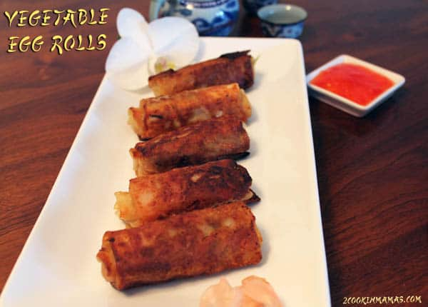Egg Rolls | 2CookinMamas