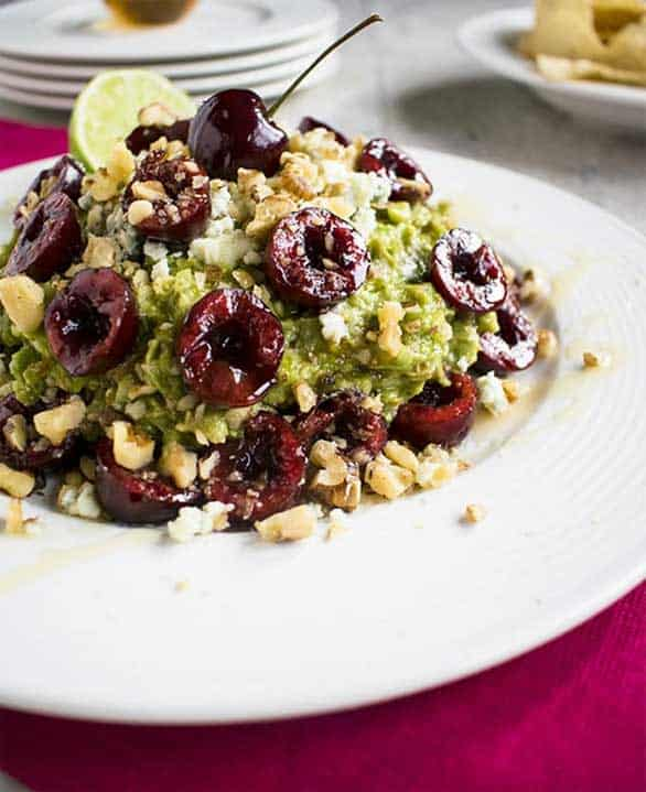 Guacamole Cherries Walnuts by Cooking with Mamas C