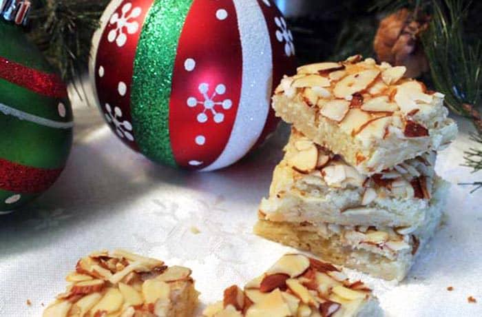 Almond Bar Cookies 1 | 2 Cookin Mamas