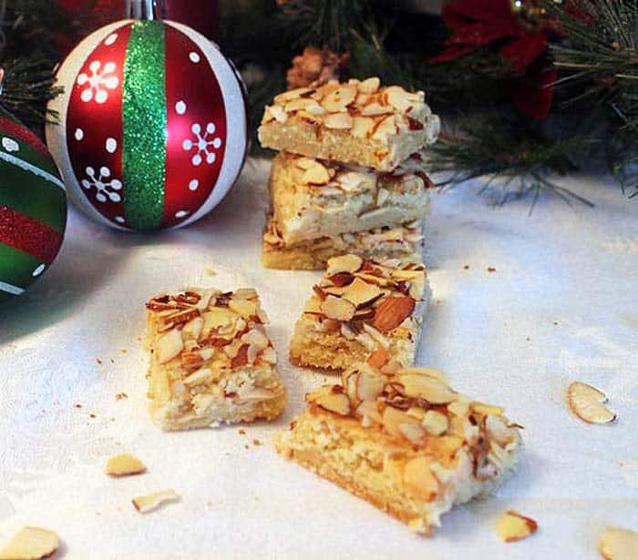 Almond Bar Cookies 5   2 Cookin Mamas