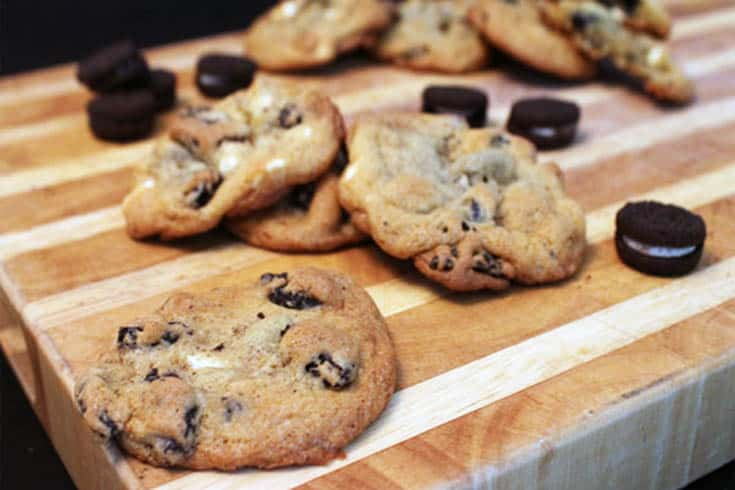 Cookies and Cream Cookies | 2 Cookin Mamas