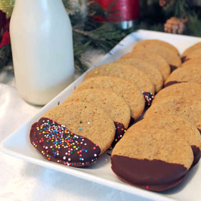 Creme Brulee Cookies square | 2 Cookin Mamas