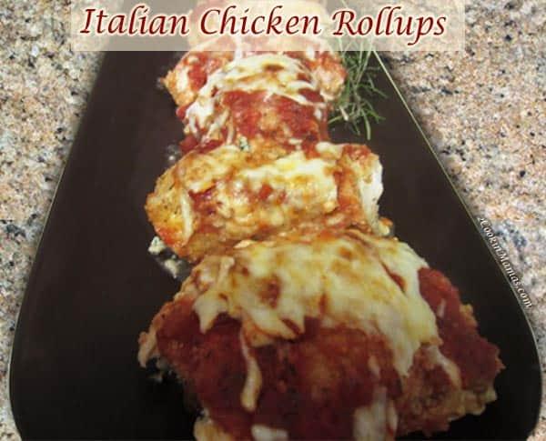 Italian Chicken Rollups | 2CookinMamas