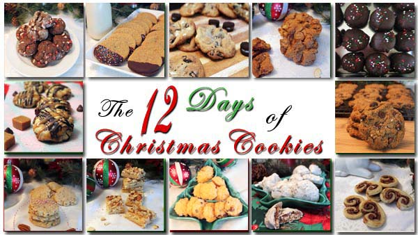 The 12 Days of Christmas Cookies Day 12 | 2CookinMamas
