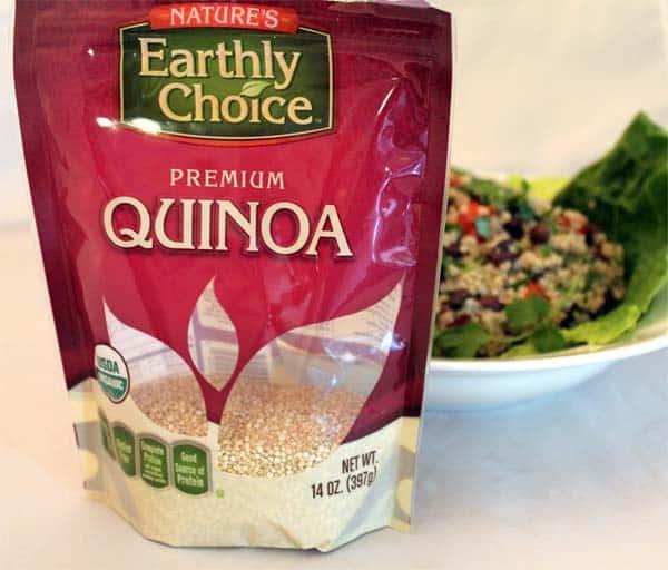Earthly Choice Quinoa  2CookinMamas