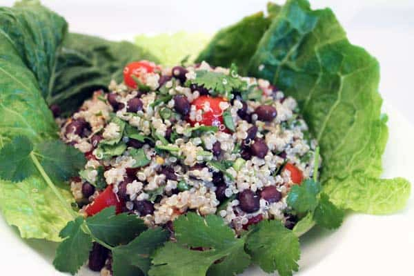 Hearty Quinoa Salad 2|2CookinMamas
