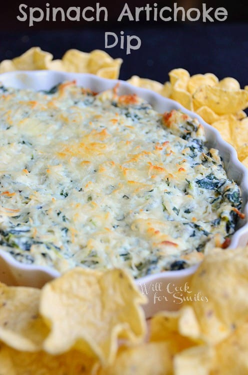 Hot Spinach Artichoke Dip by Will Cook for Smiles