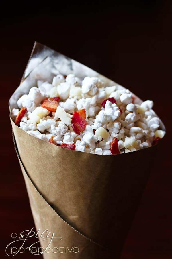 Pecorino Romano Popcorn by Spicy Perspective