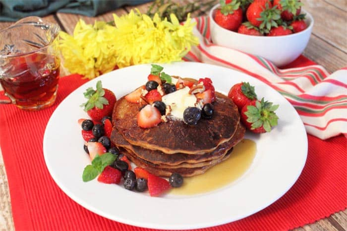 Protein Pancakes   2 Cookin Mamas
