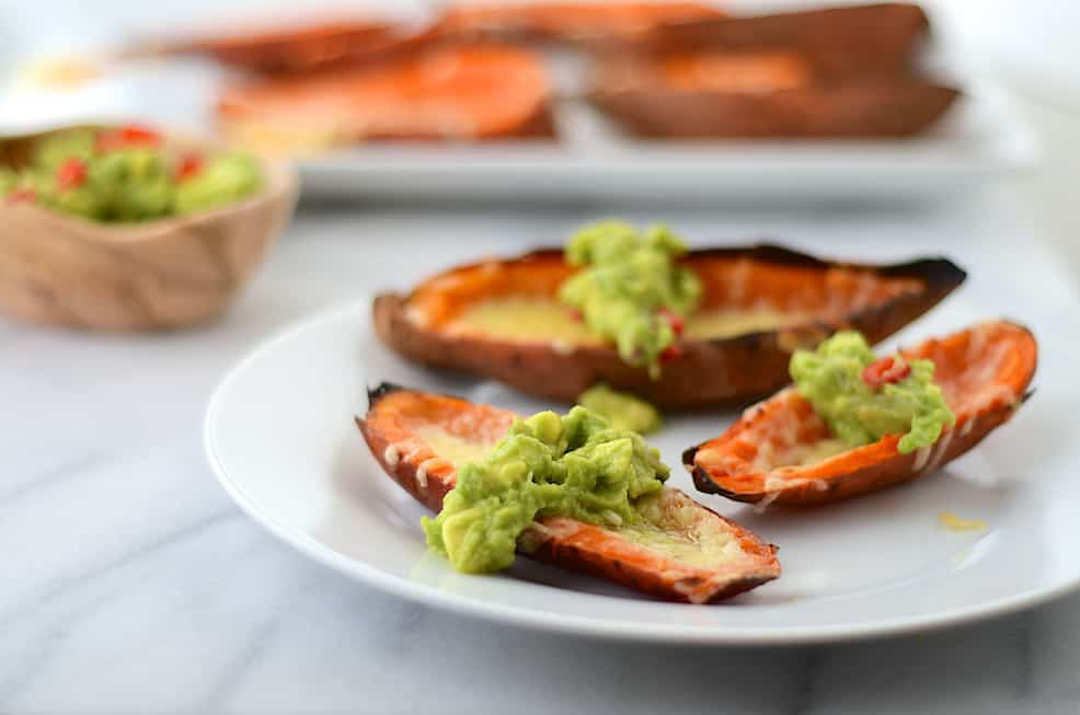Sweet Potato Skins by Girl Makes Food