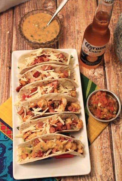 Cajun Tacos 400x600 | 2CookinMamas