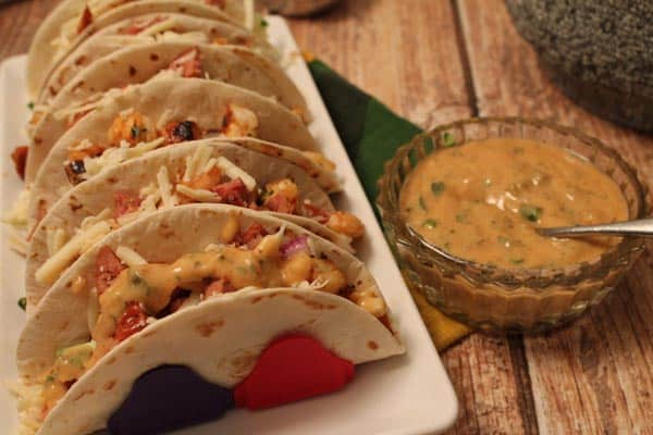 Cajun Tacos close up 400x600 | 2CookinMamas