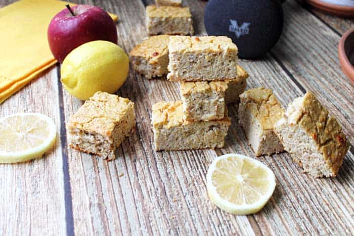 Lemon Chia Seed Protein Bars 3 | 2 Cookin Mamas