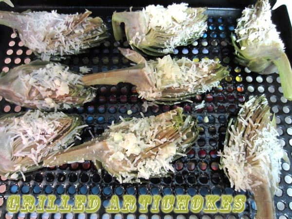 Grilled Artichokes | 2CookinMamas