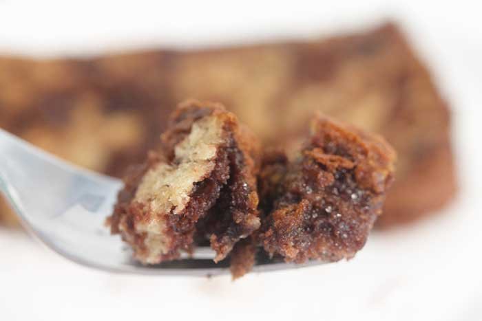 Nutella Banana Bread bite