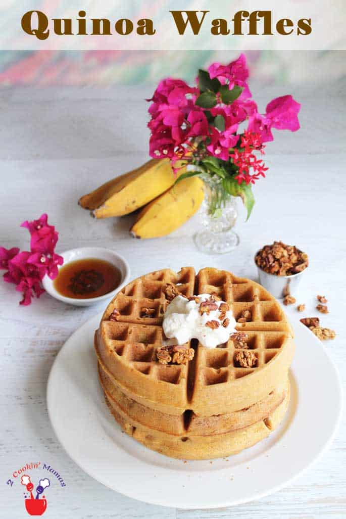 Quinoa Waffles | 2 Cookin Mamas