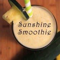 Sunshine Smoothie | 2CookinMamas