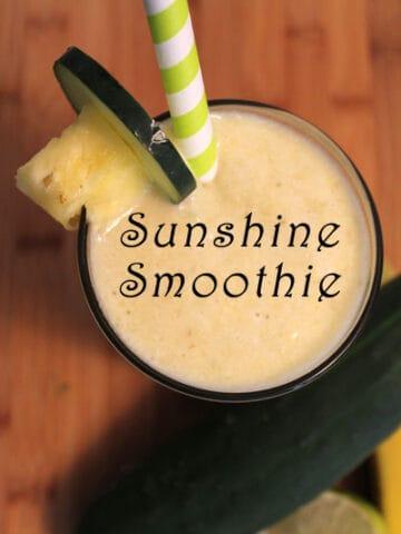Sunshine Smoothie   2CookinMamas