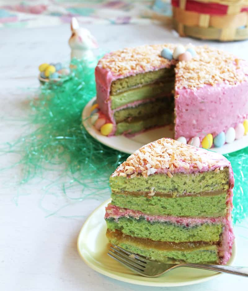 Key Lime Cake 1 | 2CookinMamas