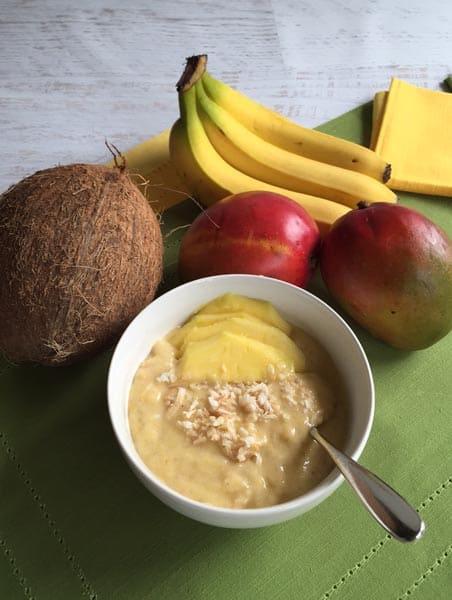 Coconut Mango Smoothie Bowl | 2CookinMamas