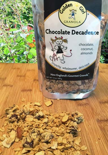Golden Girl Granola Chocolate Decadence
